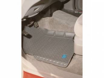 HUSKY LINER, FLOOR MAT / PAN, BLACK, MUDDY