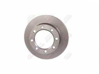 ROTOR, Front Disc Brake, replacement