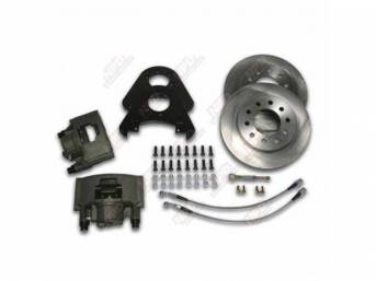 FRONT DISC BRAKE CONVERSION KIT SUPER DUTY BOLTS