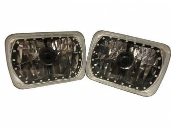 BULB SET, Halo LED, 6x7 inch rectangular, multi