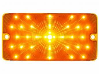 PARK LIGHT ASSY, LED, AMBER LENS