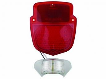 LED CONVERSION, Shield Taillight, Sequential, LH, 38 super