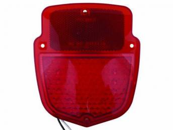LED CONVERSION, Shield Taillight, Sequential, RH, 38 super