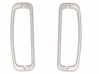 DOORS, Taillight, pair, Custom billet aluminum, CNC milled