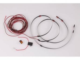 CARGO LIGHT ASSY, LED, tape light kit features