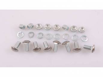 MOUNTING KIT, CHROME FRONT OR REAR