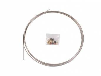 TUBE COIL KIT, Fuel or Brake Line, 3/16
