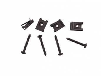MOUNTING KIT, TAILLIGHT MOLDING AND LENS
