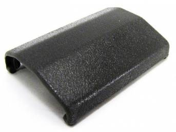 TONGUE COVER, SEAT BELT, GRAY
