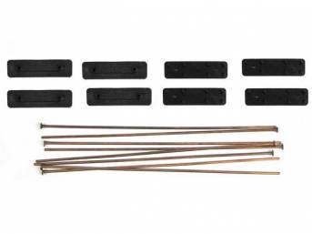 MOUNTING KIT, METAL ROD, STANDARD MOUNTING