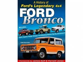 BOOK, FORD BRONCO, A History of Ford?