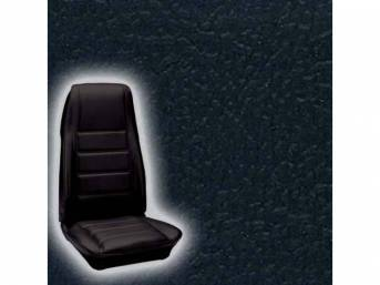 UPHOLSTERY FRONT BUCKET STANDARD BLACK Now sold as