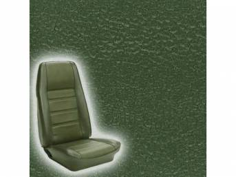 UPHOLSTERY FRONT BUCKET STANDARD MEDIUM GREEN Now sold