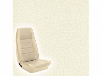 UPHOLSTERY FRONT BUCKET STANDARD WHITE Now sold as