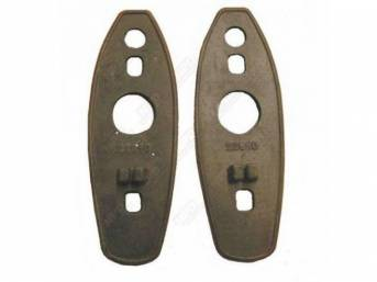 Gasket, Outside Mirror, Molded W /  Correct Bead On Edge, Lh Or Rh, Replacement Part