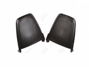 Seat Back Panels, Molded Abs Plastic, Correct Grain,