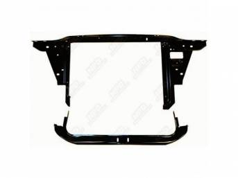 Support, Radiator Core, Complete, W/ Upper Tie Bar, Side Panels And Lower Support, Repro