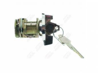 Ignition Lock And Key, Without Tilt Wheel