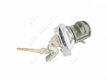 Ignition Lock And Key, Without Tilt Wheels