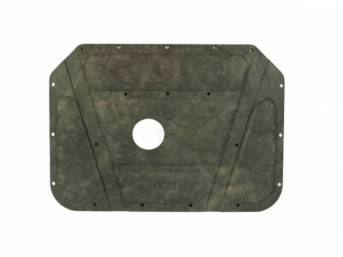 Molded Hood Pad, Molded Hood Pad, Correct Molded, Die Cut Holes For Clips