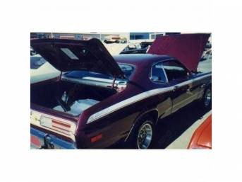 1960-1976 Mopar Restoration Stripe Kit 70-75 Duster Parts - National