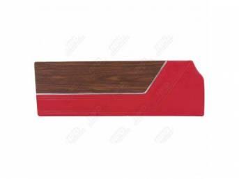 Door Panels Red Coachman Grain