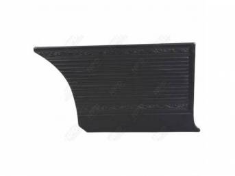 Rear Quarter Trim Panels Black Cologne Grain W/