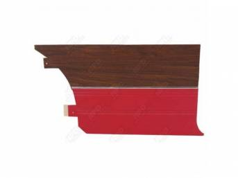 Rear Quarter Trim Panels Red Coachman Grain