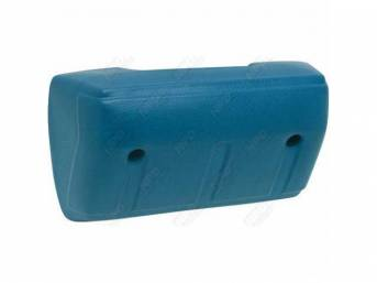 Front Door Arm Rest, Blue, RH or LH, repro