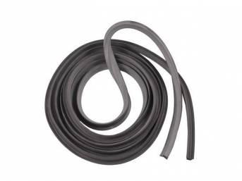 WEATHERSTRIP, Side Door Opening, LH or RH, rubber,