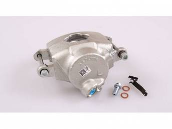 CALIPER ASSY, Wheel Brake, front, LH, Unloaded, single piston, rebuilt