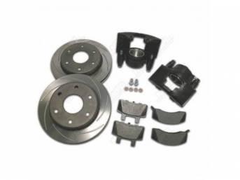 Disc Conversion Kit Big Brake Upgrade Larger Bore
