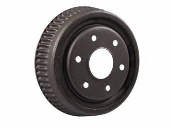 DRUM, Brake, Rear, 10 inch diameter x 2