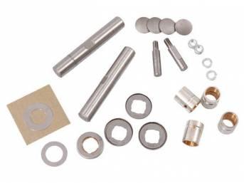 REBUILD KIT, Steering Knuckle King Pins, std sized,