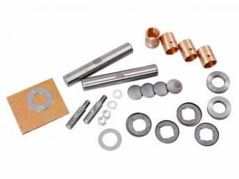 REBUILD KIT, Steering Knuckle King Pins, .010 oversized,