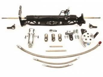 RACK AND PINION CONVERSION KIT, Unisteer, P/S, Bolt