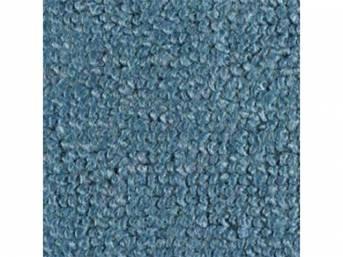 Carpet Loop Reg Cab Med Blue Full Floor