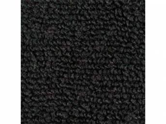 Carpet Loop Reg Cab Black Full Floor Low