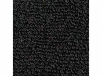 Carpet Loop Reg Cab Black Full Floor High