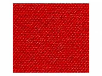 Carpet Daytona Reg Cab Red Full Floor Low