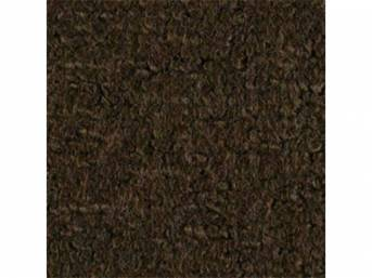 Carpet Loop Reg Cab Dark Brown 2 Wheel