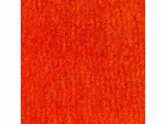Carpet Cut Pile Mandrin Orange Crew Cab 4wd