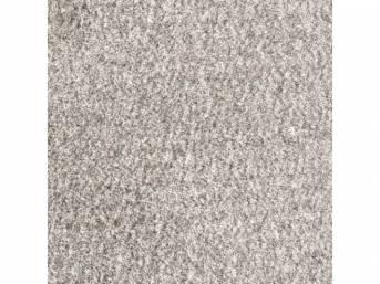 Carpet Cutpile Crew Cab Dove Gray 2 Wheel