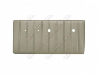 PANEL SET, Front Door, vertical pleat style, phantom white, ABS-plastic, replacement style repro