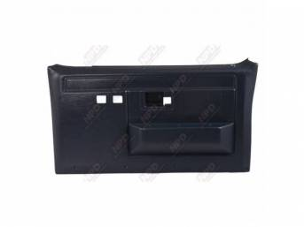 PANEL SET, Front Door, Shadow Blue, w/ power windows and power locks, does not include armrest pads or trim package (see p/n K-16155D-81 for pads, p/n K-DPRM-X / K-DPRM-Y for trim package), ABS-plastic, replacement-style repro