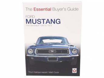 BOOK, FORD MUSTANG, FIRST GENERATION 1964 TO 1973