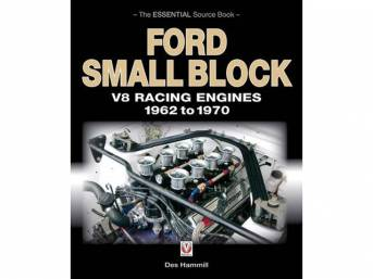 BOOK, FORD SMALL BLOCK V8 RACING ENGINES 1962 TO 1970