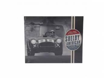 BOOK, Shelby American Up close and Behind the
