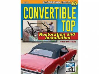 BOOK, Convertible Top Restoration and Installation, by Fred