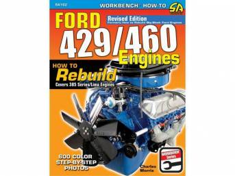 BOOK, FORD 429/460 ENGINES, HOW TO REBUILD